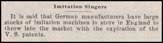 July 1900 Sewing Machine Times
