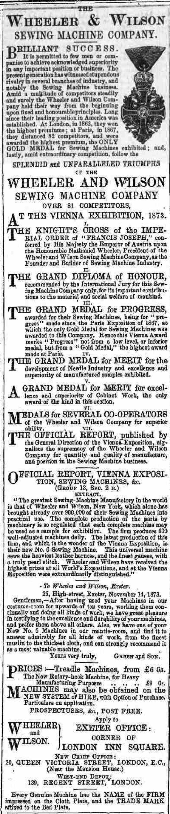 Exeter Flying Post - Wednesday 04 March 1874