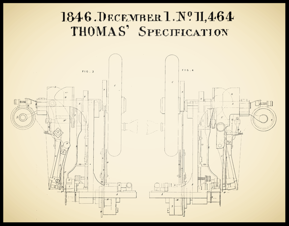 GB 11.464/1846        William Thomas  (December 1, 1846)  Fig. 3 - 4