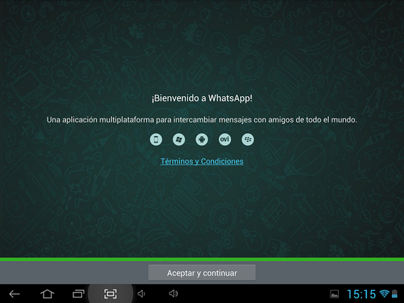 Instalar whatsapp en una tablet 6