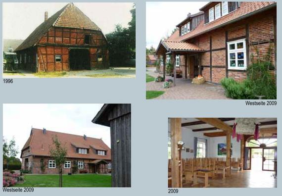 """Dorfgemeinschaftshaus Bockelskamp-Flackenhorst (Abschlussbericht der """"AG Dorfentwicklung"""" an der Leibniz Universität Hannover 2010/11: Seite 135)"""