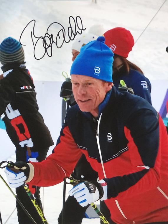 Autograph Bjorn Daehlie Autogramm