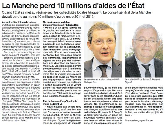 Ouest-France, 15 février 2013