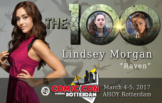3/4-3/5/17 - Rotterdam, Holland - Comic Con Rotterdam - With Lindsey Morgan.
