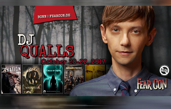 10/20-10/22/17 - Bonn, Germany - Fear Con - With DJ Qualls.