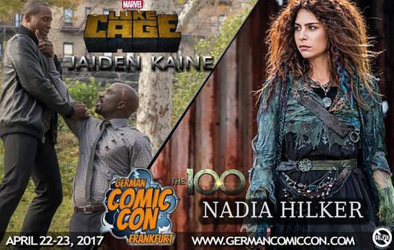 4/22-4/23/17 - Frankfurt, Germany - Frankfurt Comic Con - With Jaiden Kaine, Nadia Hilker.