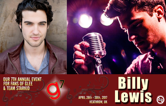 4/28-4/30/17 - Heathrow, England - Glee 7 - With Billy Lewis.