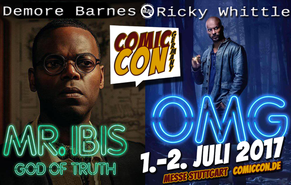 7/1-7/2/17 - Stuttgart, Germany - Comic Con Germany - With Demore Barnes, Ricky Whittle.