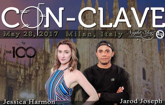 5/28/17 - Milan, Italy - Con-Clave - With Jessica Harmon, Jarod Joseph.