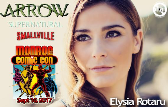 9/16/17 - Monroe, MI. - Monroe Comic Con - With Elysia Rotaru.