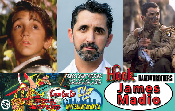 10/14-10/15/17 - Cleveland, Ohio - Cleveland Comiccon - With James Madio.