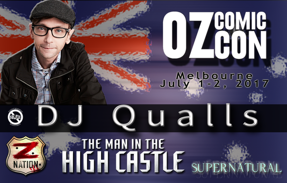 7/1-7/2/17 - Oz ComicCon - Melbourne, Australia - With DJ Qualls.