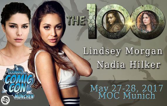 5/27-5/28/2017 - Munich, Germany - Comic Con Munich - With Nadia Hilker, Lindsey Morgan.