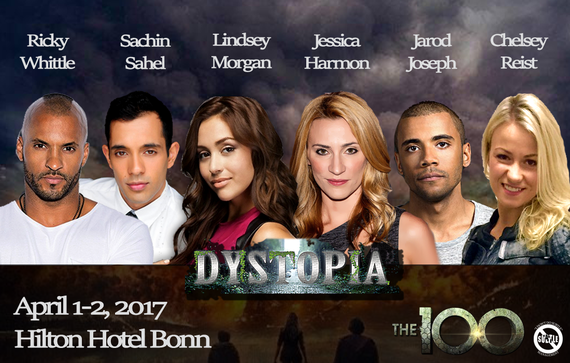 4/1-4/2/17 - Bonn, Germany - Dystopia - With Ricky Whittle, Lindsey Morgan, Sachin Sahel, Jarod Joseph, Chelsey Reist, Jessica Harmon.