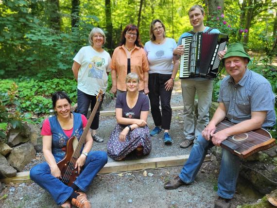 Geisinger Vugelbeern - mit Blick auf den Geisingberg
