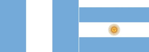 Banderas de los exiliados unitarios en Montevideo