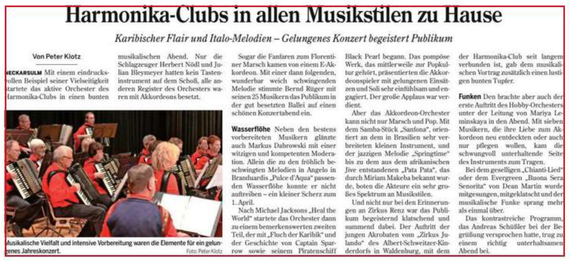 Neckarsulmer Woche, 13. April 2017