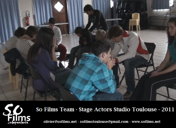 Exercice d'Actors Studio