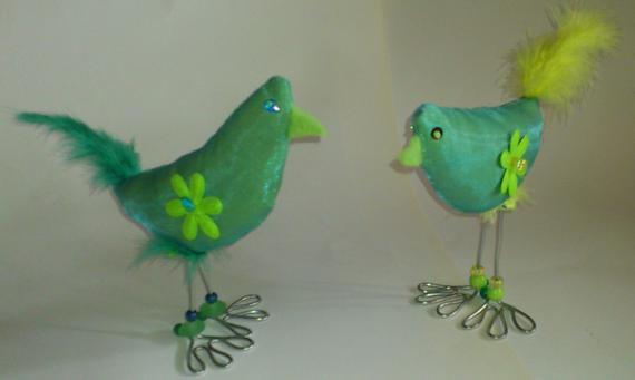 Hühner und Paradiesvögel
