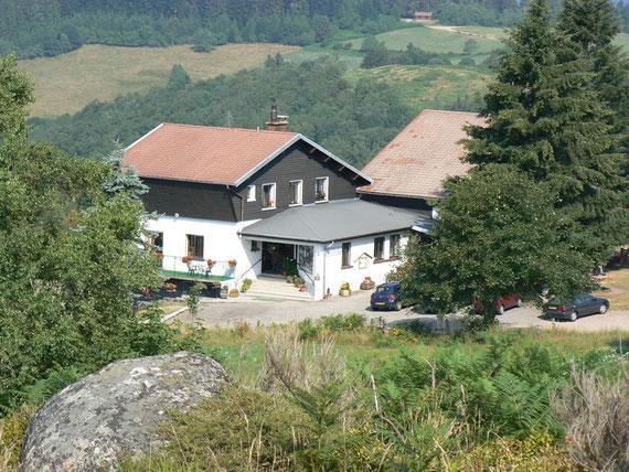 Маленький горный отель