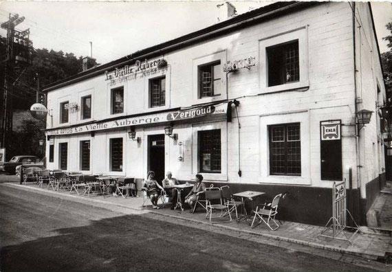 La façade de la Vieille Auberge fin des années 1950