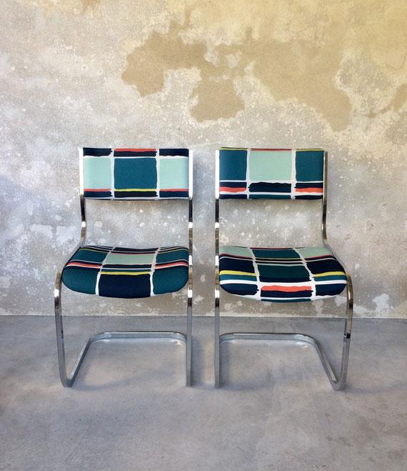 chaises cantilever, Mart Stam, marcel Breuer