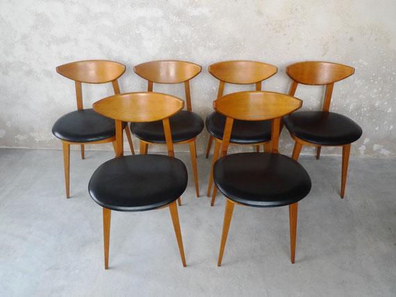 JOLI, chaises Gariche, chaises années 60, chaises vintage