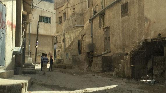Al-Baqaa est l'un des six camps « d'urgence » installés après la défaite de la Jordanie lors de la guerre des Six Jours (MEE/Mohammed Ayesh)