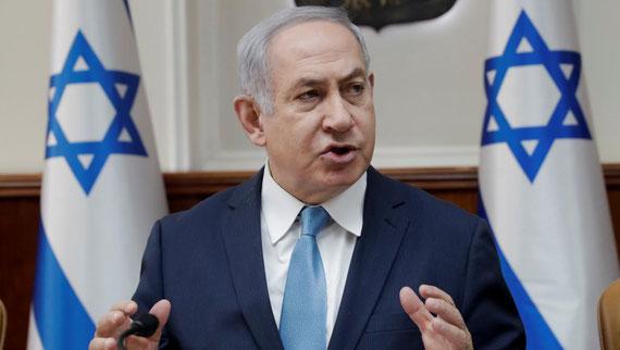 Le Premier ministre israélien Benyamin Netanyahu estime que l'UNRWA doit être fermée. REUTERS/Tsafrir Abayov/Pool