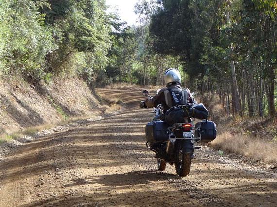 Nebenstraßen in Chile