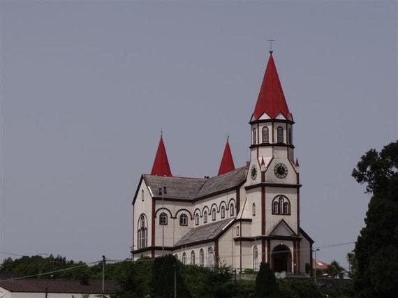 Die berühmte Kirche in Valdivia