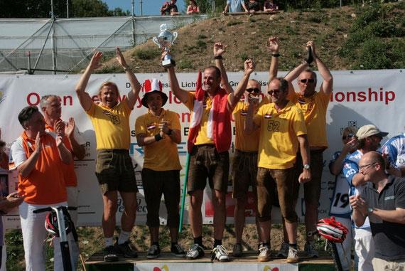SegwayPolo Austria werden erster ISPA Segway Polo-Europameister.