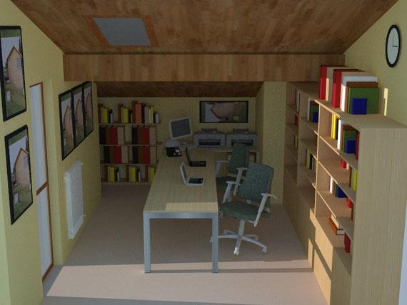 Entratico architetto manuel tonolini for Arredamento studio professionale