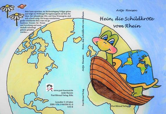 Hein die Schildkröte vom Rhein, Antje Hansen, Psst Hörmal Verlag.