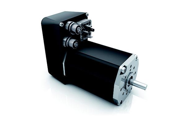 Bild: BLDC-Motor BG65 mit Profinet-Schnittstelle von Dunkermotoren