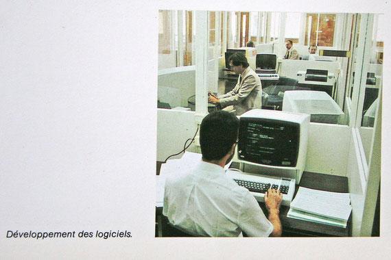 Postes de travail de développeurs de logiciels (document IBM)