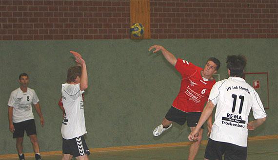 v.l.:Jörg Schulze, Dirk Steffens, Lucas Walter und Martin Prinz