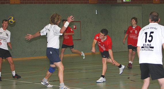 v.l.:Stefan Leinung, Oliver Klein, Tim Krähe, Lucas Walter, Robert Stephan und Gerald Waldow