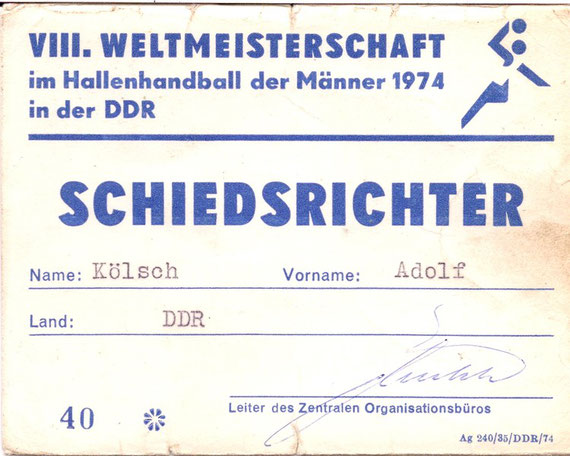 VIII.Handball-WM 1974