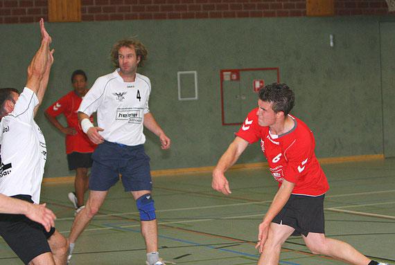 v.l.:Jörg Schulze, Elias Tembe, Oliver Klein und Lucas Walter