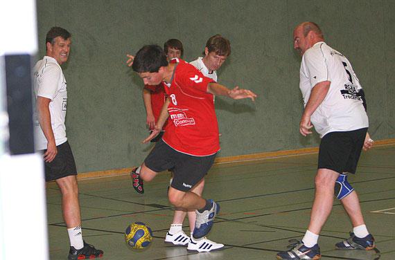 v.l.:Stefan Leinung, Gideon Goetze, Robert Stephan, Dirk Steffens und Frank Ziekau
