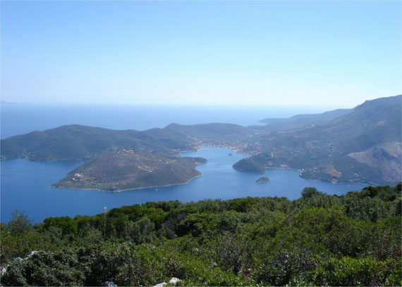 Kefalonia is rich of wonderful protected bays