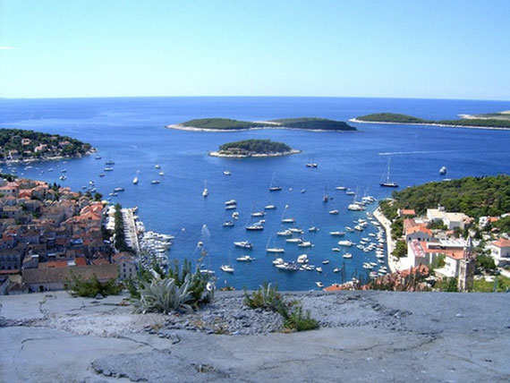 View from the Bay of Hvar