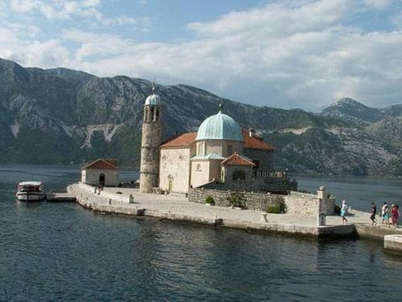 The church of Gospa od Skrpjeta