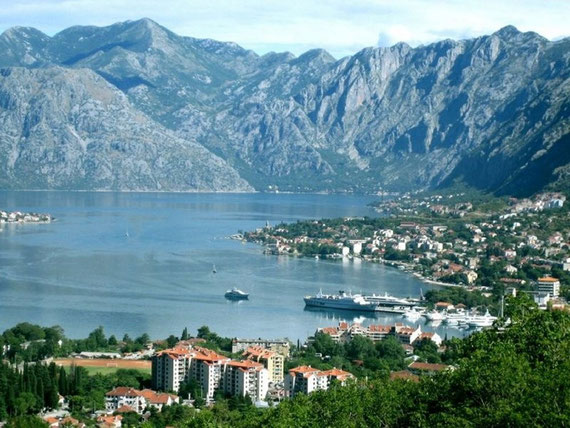 KOTOR BAY IN SPRING