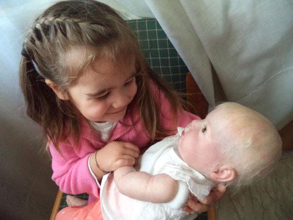 reborn baby CRYSTAL  Donna Rubert