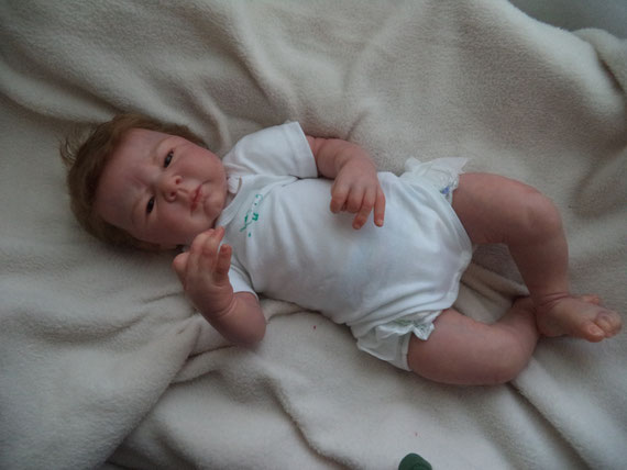 baby reborn NOELLE by Adrie Stoete