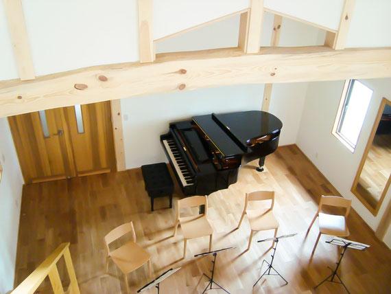 グランドピアノ YAMAHA C5E