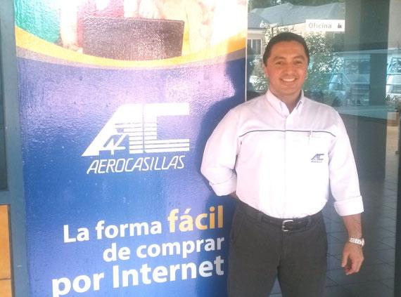 Carlos Barrientos Gerente de País de Aerocasillas