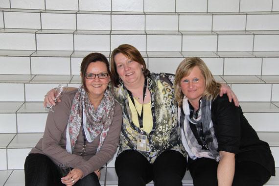 Astrid, Kati und Yvette
